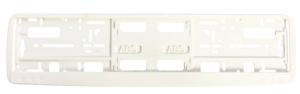 Okviri registarskih tablica Okvir registarske tablice (kružići) - bela
