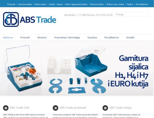 Predstavljen novi sajt preduzeća ABS Trade