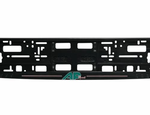 MODEL II – Okvir registarske tablice (kružići) – Sito štampa – Crna – 174GP