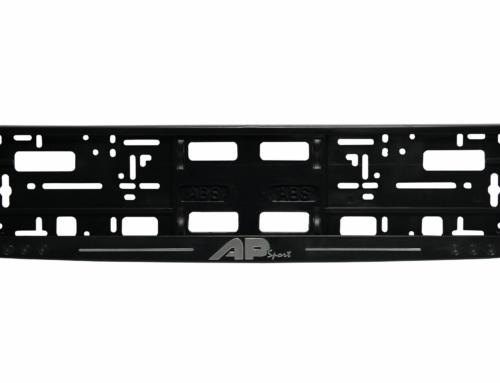 MODEL II – Okvir registarske tablice (kružići) – Hrom štampa – Crna – 174GP